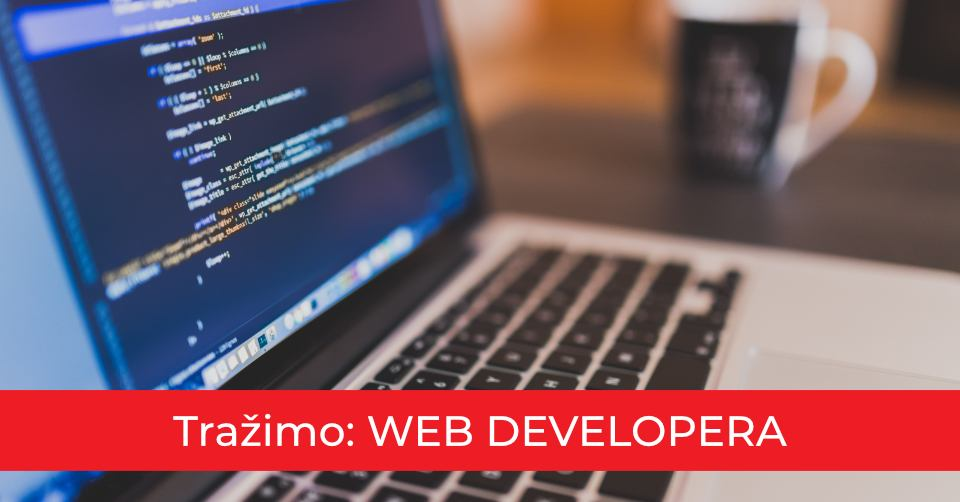Zapošljavamo web developera/icu!