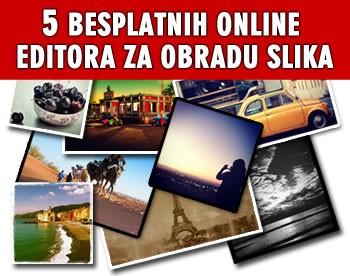 5 besplatnih online programa za obradu i uređivanje slika